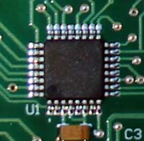 The microcontroller used by the ET232. While it is