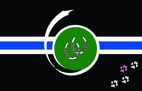 The Ottawa Pony and Critter Club flag