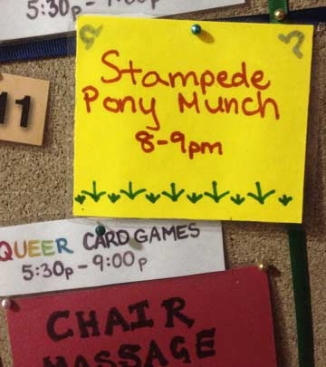 The Stampede munch scheduled on the Wicked Grounds calendar of events